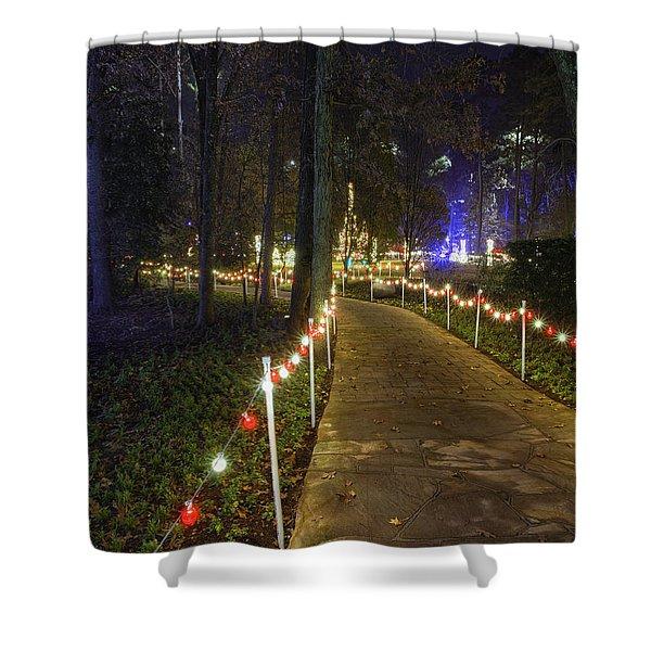 Long Path Shower Curtain