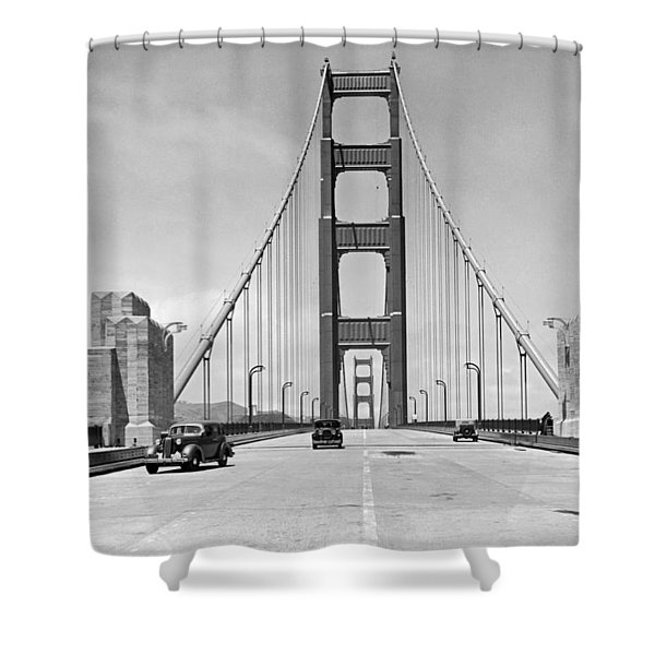 Golden Gate Bridge Preview Shower Curtain