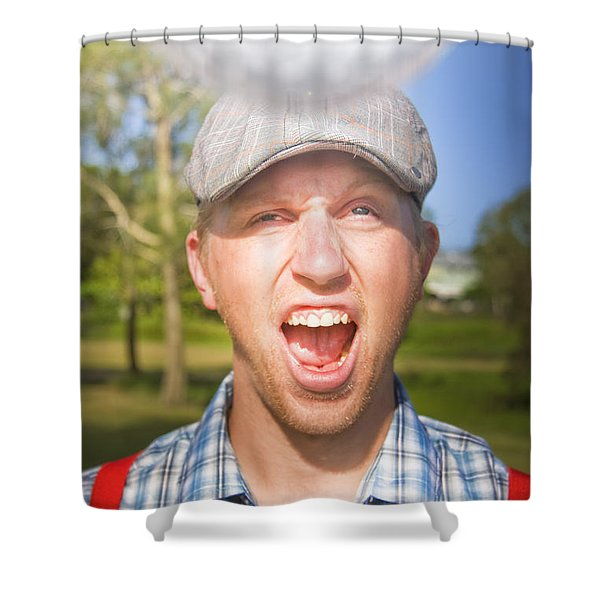 Golf Four And Out Cold Shower Curtain