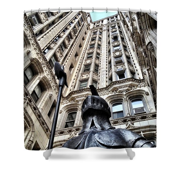 Gothic Gramercy Shower Curtain