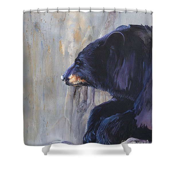Grandfather Bear Shower Curtain