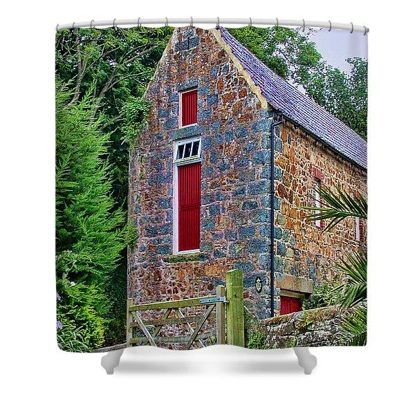 Guernsey Barn Shower Curtain