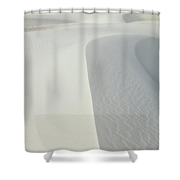 Gypsum Dunes In White Sands Shower Curtain
