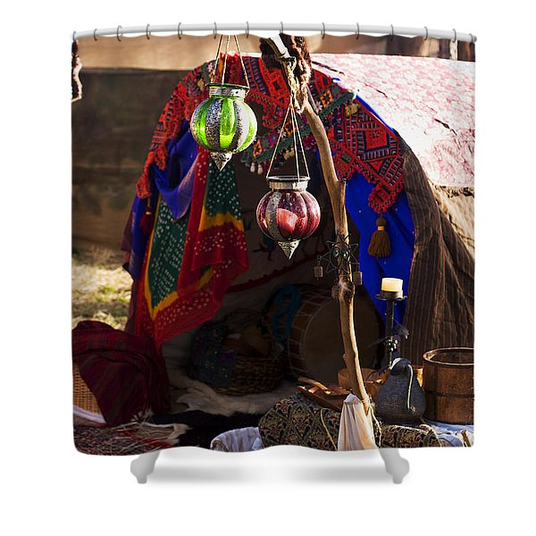 Gypsy Tent Shower Curtain