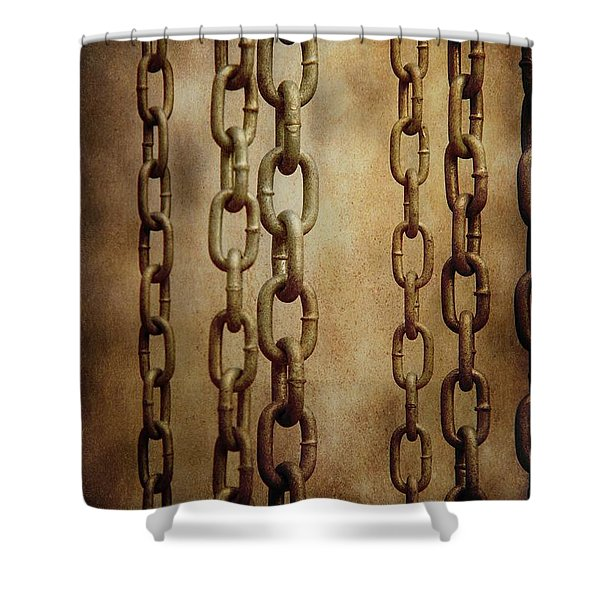 Hanged Chains Shower Curtain