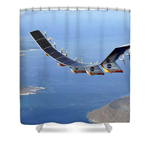 Helios Prototype, Solar-electric Shower Curtain