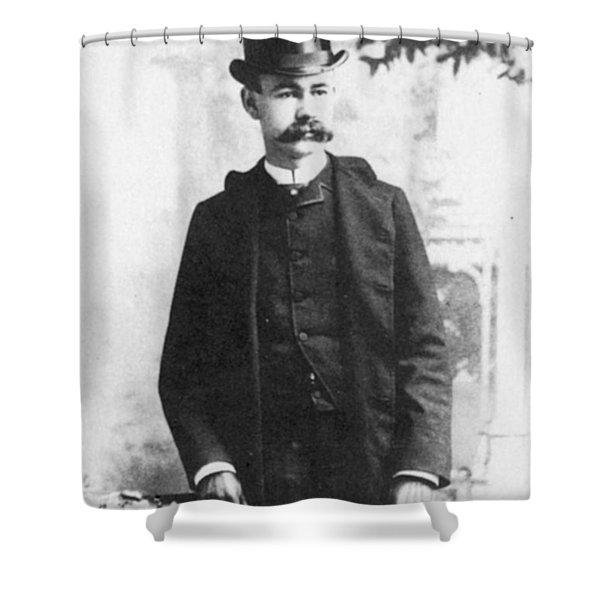 Herman Hollerith (1860-1929) Shower Curtain