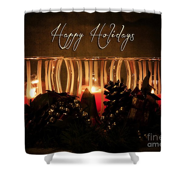 Holiday Glow Shower Curtain