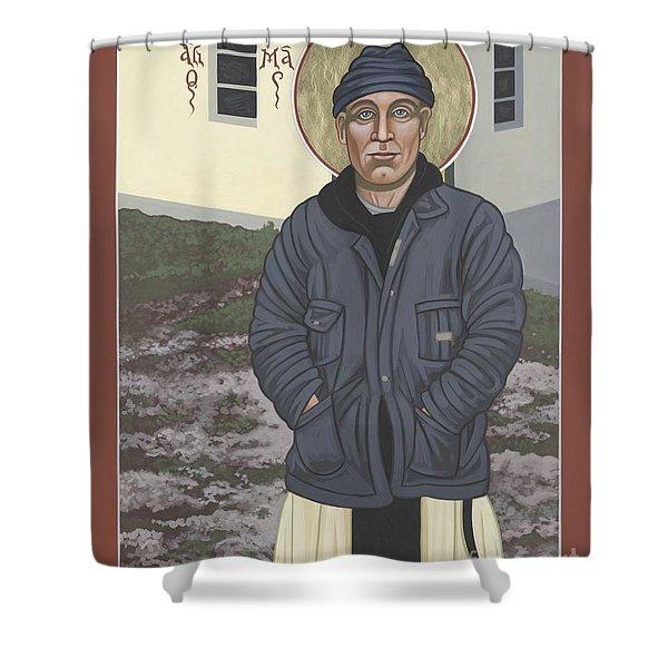 Holy World Evangelist Thomas Merton 267 Shower Curtain