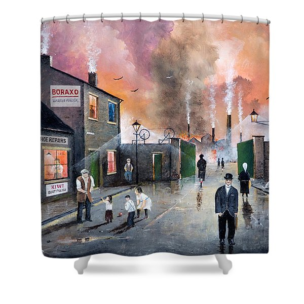 Images Of The Black Country Shower Curtain