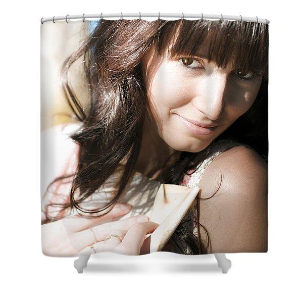 In Love Shower Curtain