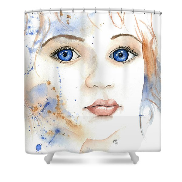 Light Of The Heart Shower Curtain