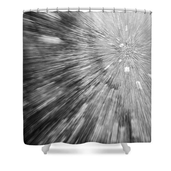 Into The Vortex Shower Curtain