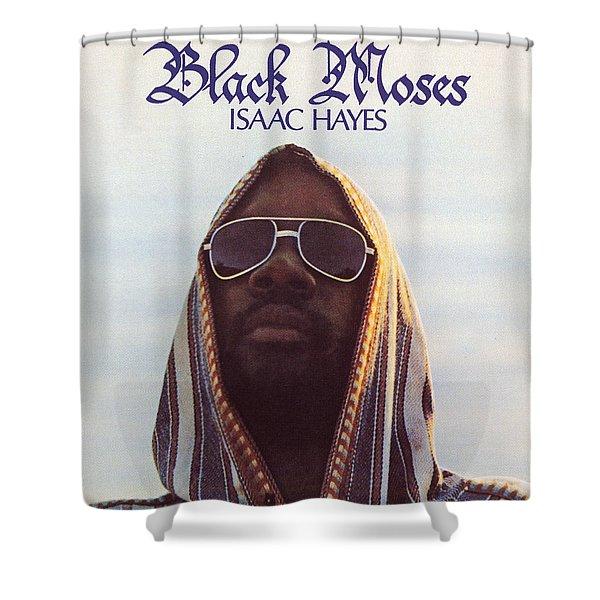 Isaac Hayes -  Black Moses Shower Curtain
