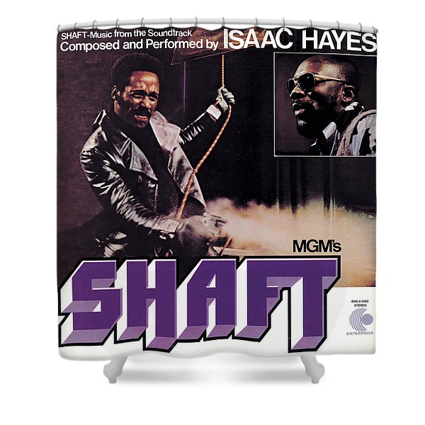 Isaac Hayes -  Shaft Shower Curtain
