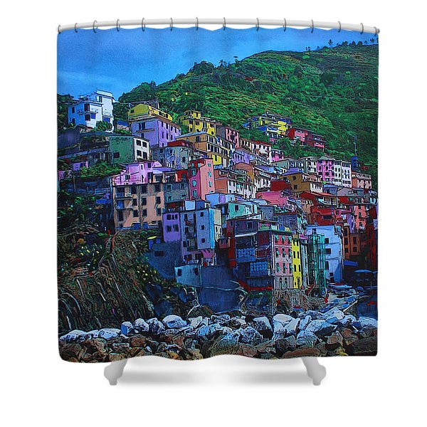 Italia Shower Curtain
