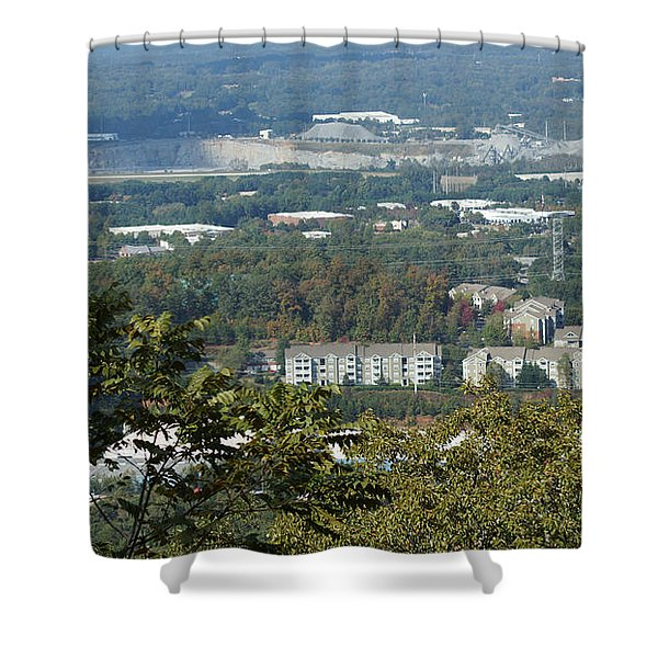 Kennesaw Battlefield Mountain Shower Curtain