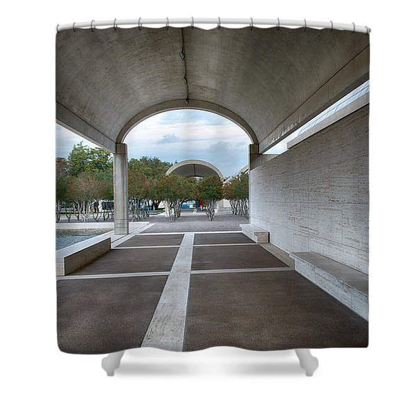 Kimbell Art Museum Fort Worth Shower Curtain