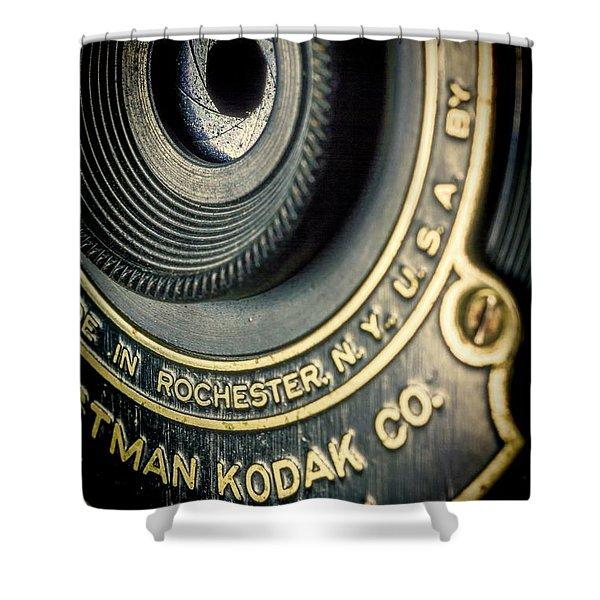 Kodak Hawkeye Shower Curtain