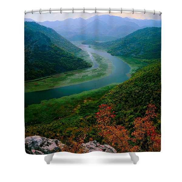 Lake Skadar. Montenegro Shower Curtain