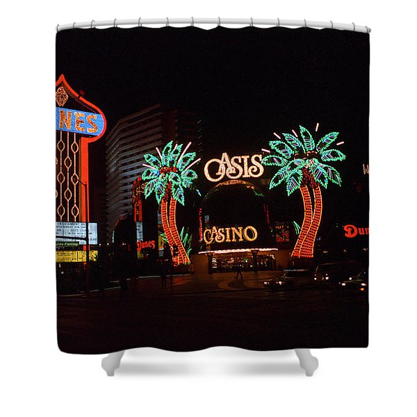 Las Vegas 1983 #2 Shower Curtain