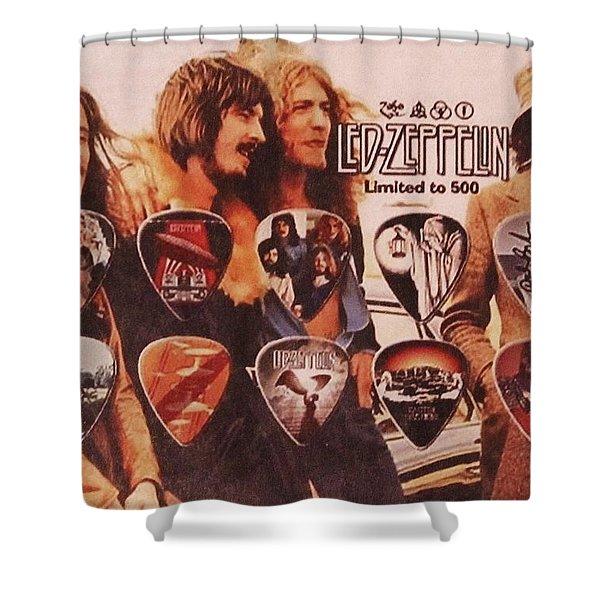 Led Zeppelin Art Shower Curtain