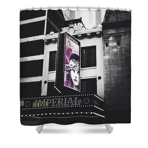 Les Miz Shower Curtain