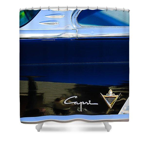 Lincoln Capri Emblem Shower Curtain