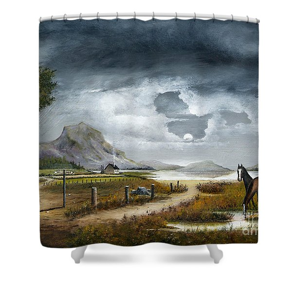 Loch Lomand Shower Curtain