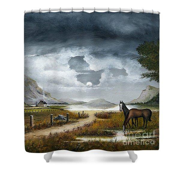 Loch Lomand Shower Curtain