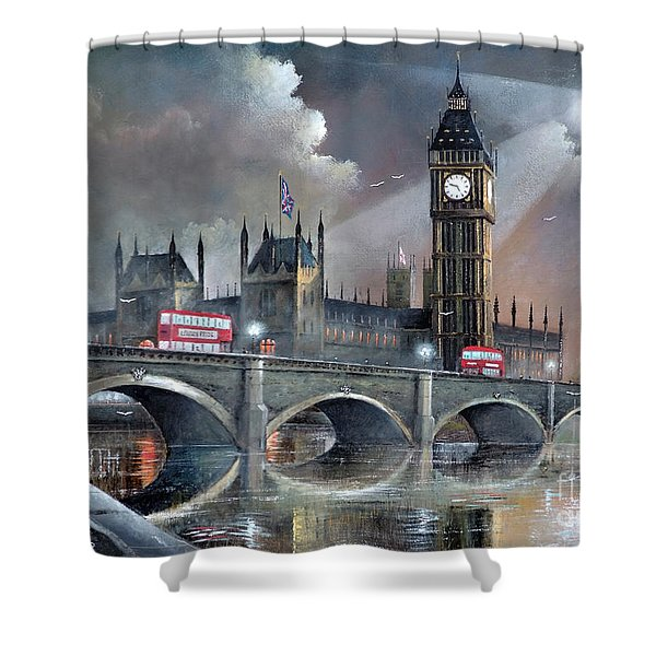London Pride Shower Curtain