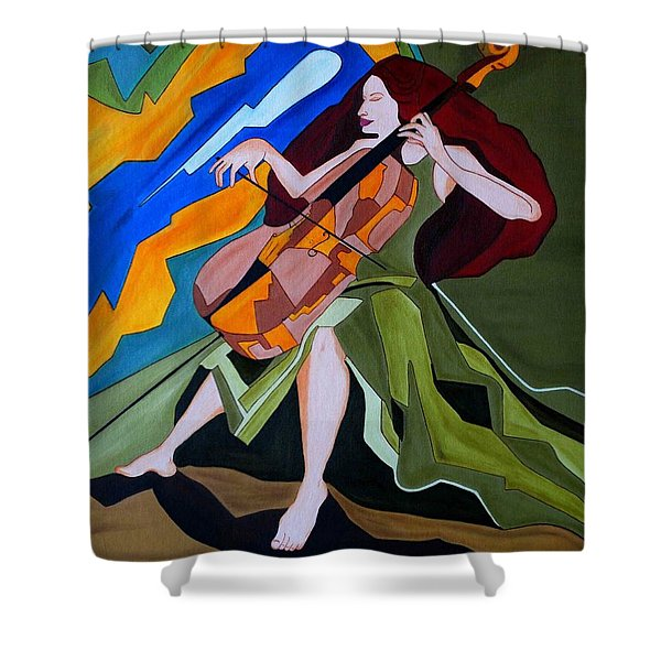 Lost In Music Shower Curtain