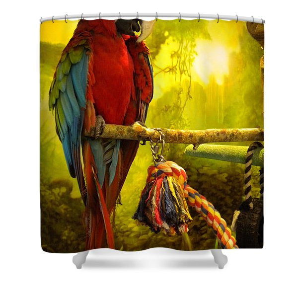Lucky Look Shower Curtain