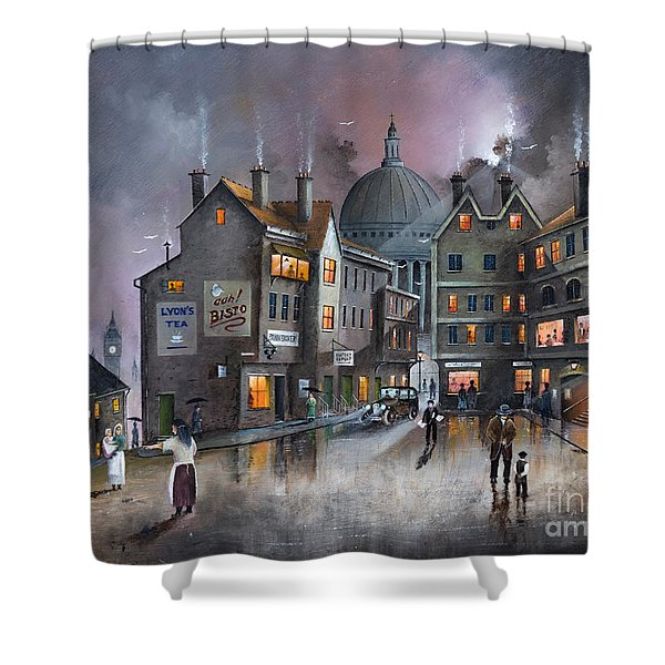Ludgate Hill Shower Curtain