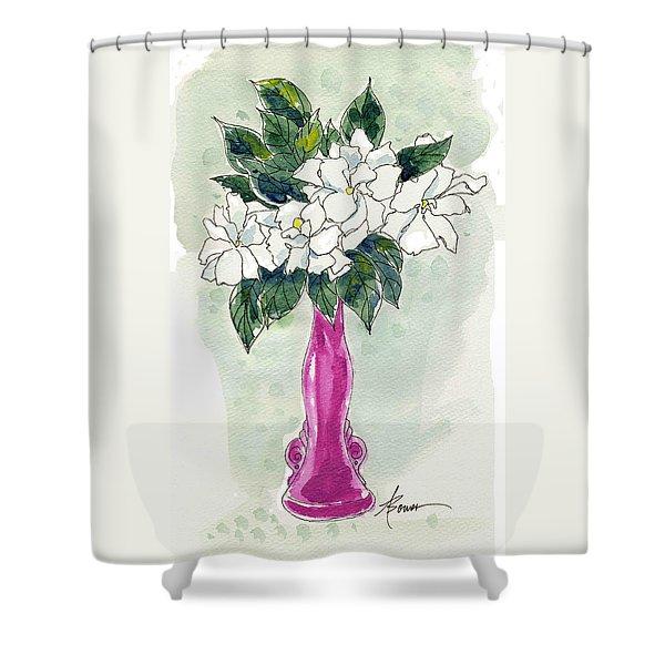 Mama's Vase Shower Curtain
