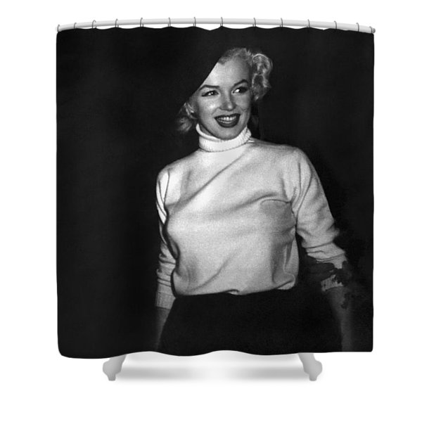 Marilyn Monroe In Korea Shower Curtain