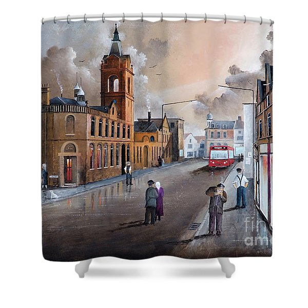 Market Street - Stourbridge Shower Curtain