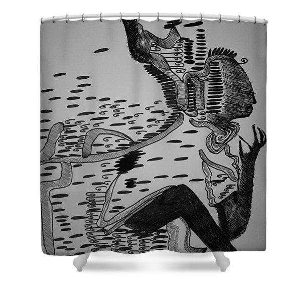 Mbakumba Dance - Zimbabwe Shower Curtain