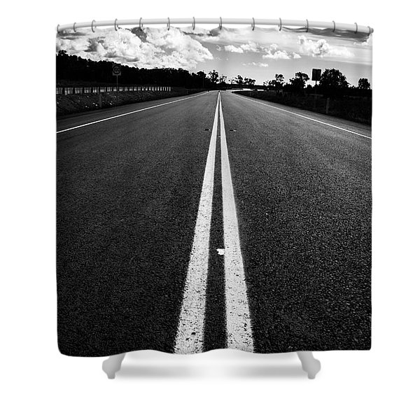 Middle Road Shower Curtain