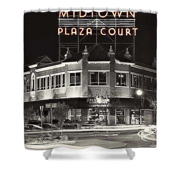 Midtown Plaza Shower Curtain