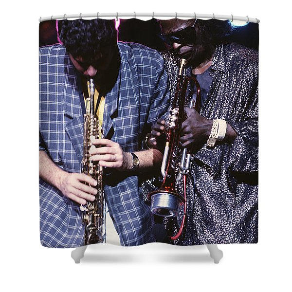 Miles Davis  Shower Curtain