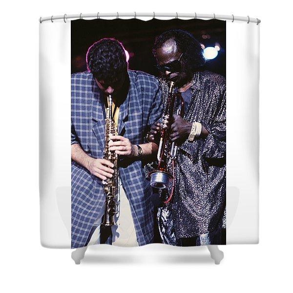 Miles Davis  Shower Curtain