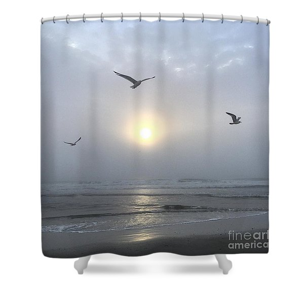 Moment Of Grace Shower Curtain