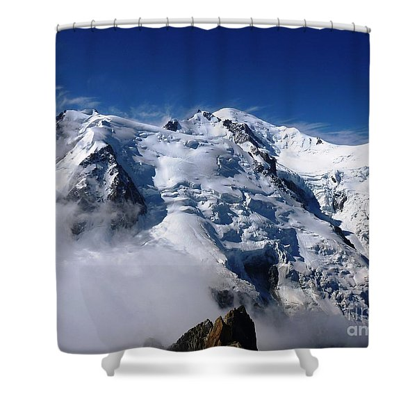 Mont Blanc - France Shower Curtain