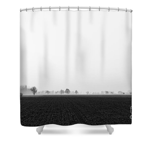 Moonland Shower Curtain