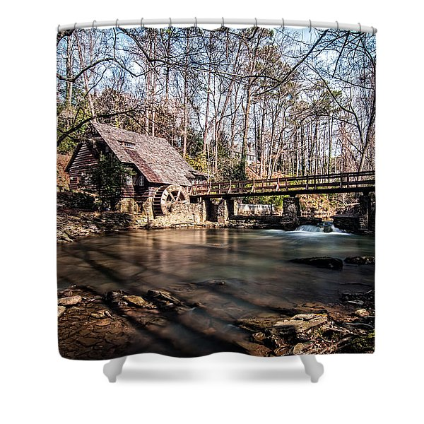 Mountain Brook Mill Shower Curtain