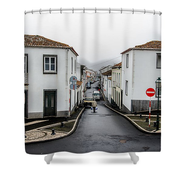 Municipality Of Ribeira Grande Shower Curtain
