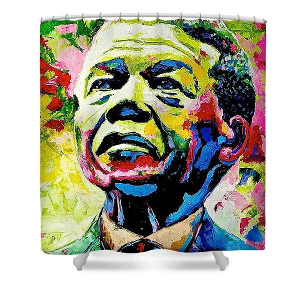 Nelson Mandela Shower Curtain
