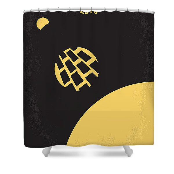 No365 My 2010 Minimal Movie Poster Shower Curtain