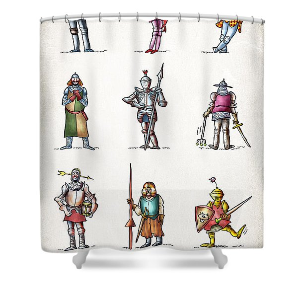 One Knight Stands Shower Curtain